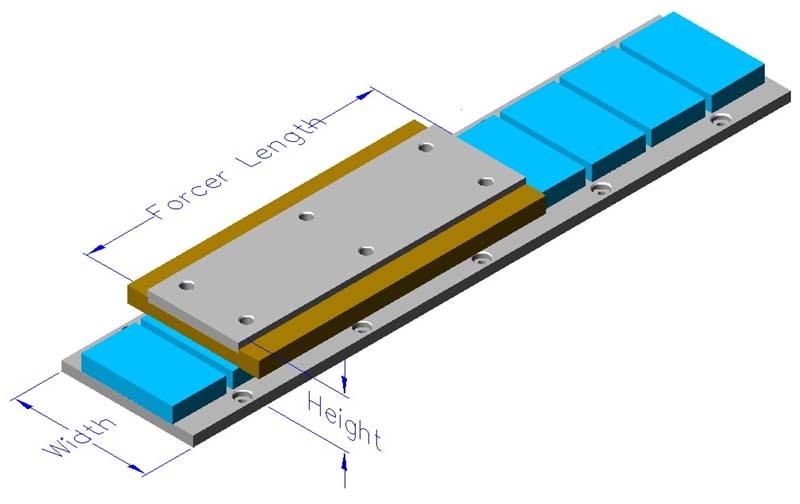 Aslm Linear Motors Flat