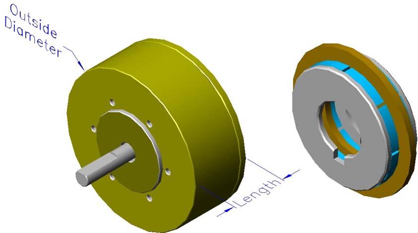 Axial Motor Rotor : Aslm rotary motors axial